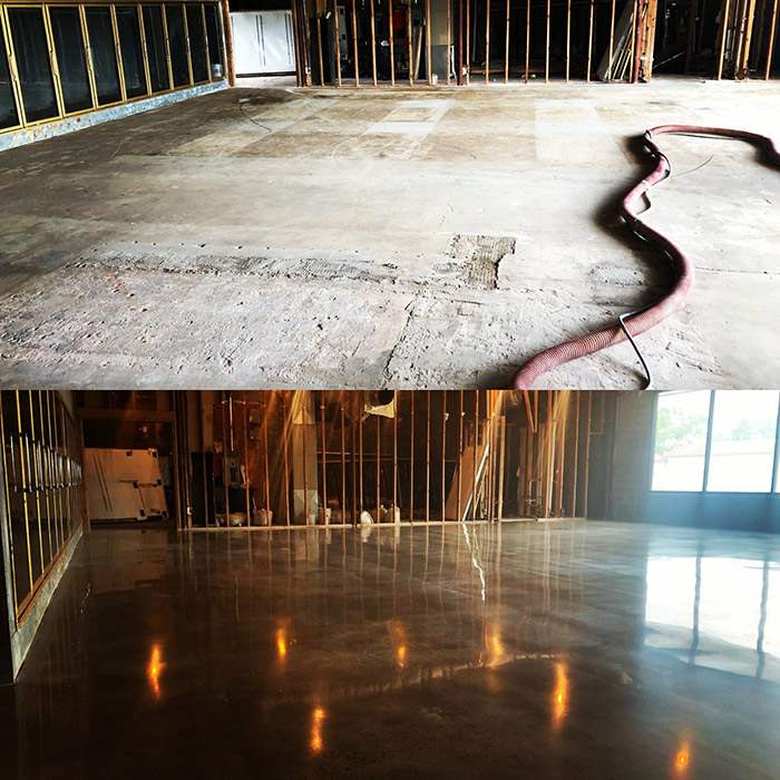 Concrete Warehouse Cleaning and Restoration